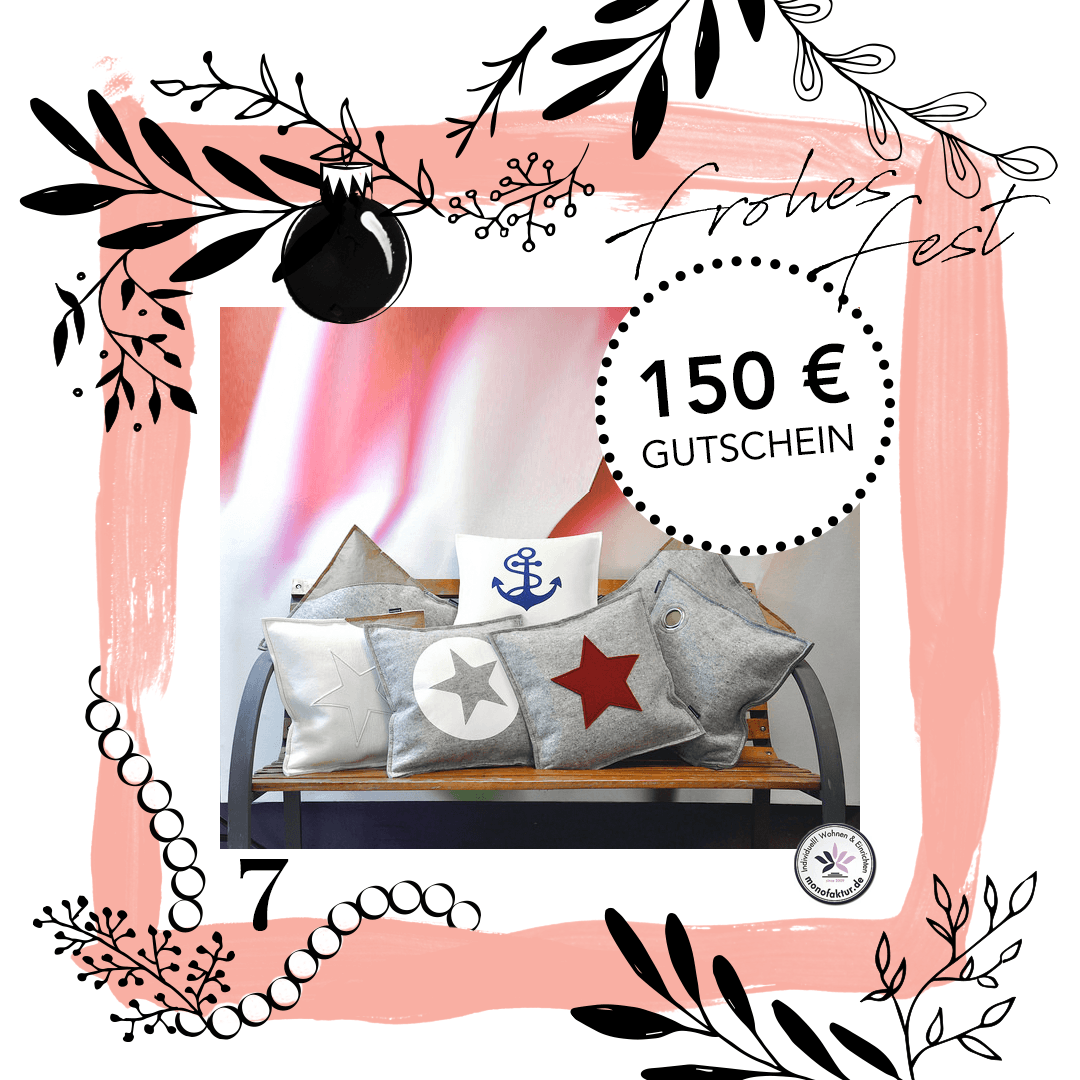 adventskalender gewinnspiel am 5 dezember mit monofaktur. Black Bedroom Furniture Sets. Home Design Ideas