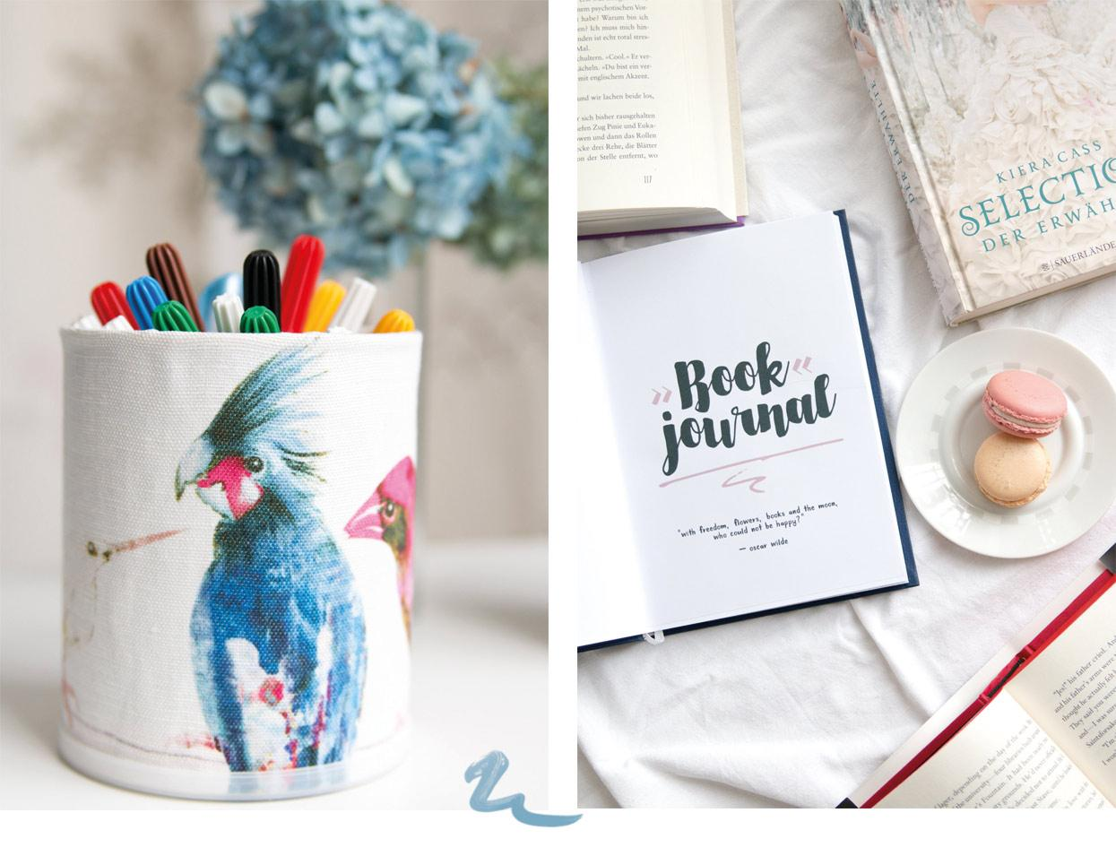 Book Journal DIY Carolinart Lifestyleblog