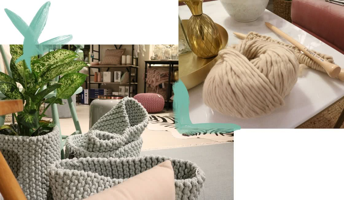 die besten knitting parties wohnklamotte x we are knitters. Black Bedroom Furniture Sets. Home Design Ideas