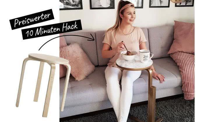 IKEA Hack Laptoptisch