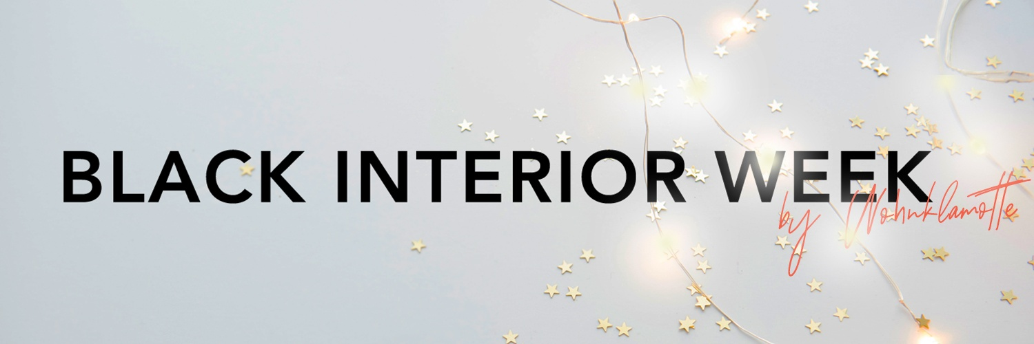 Black Interior Week Wohnklamotte Deals
