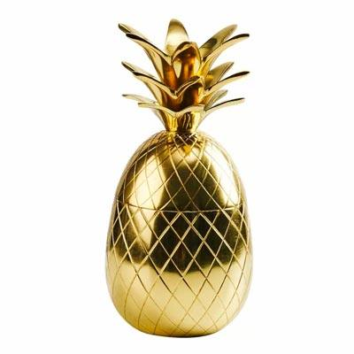 Ananas in Gold