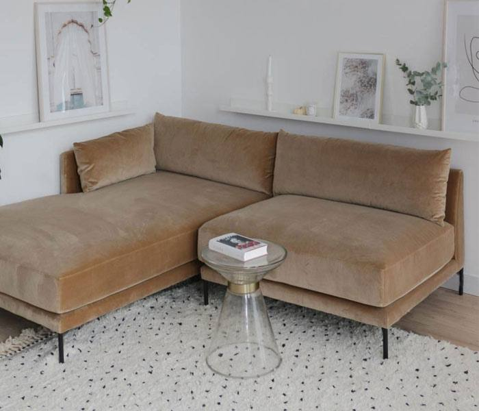 modulares Sofa im WK Apartment