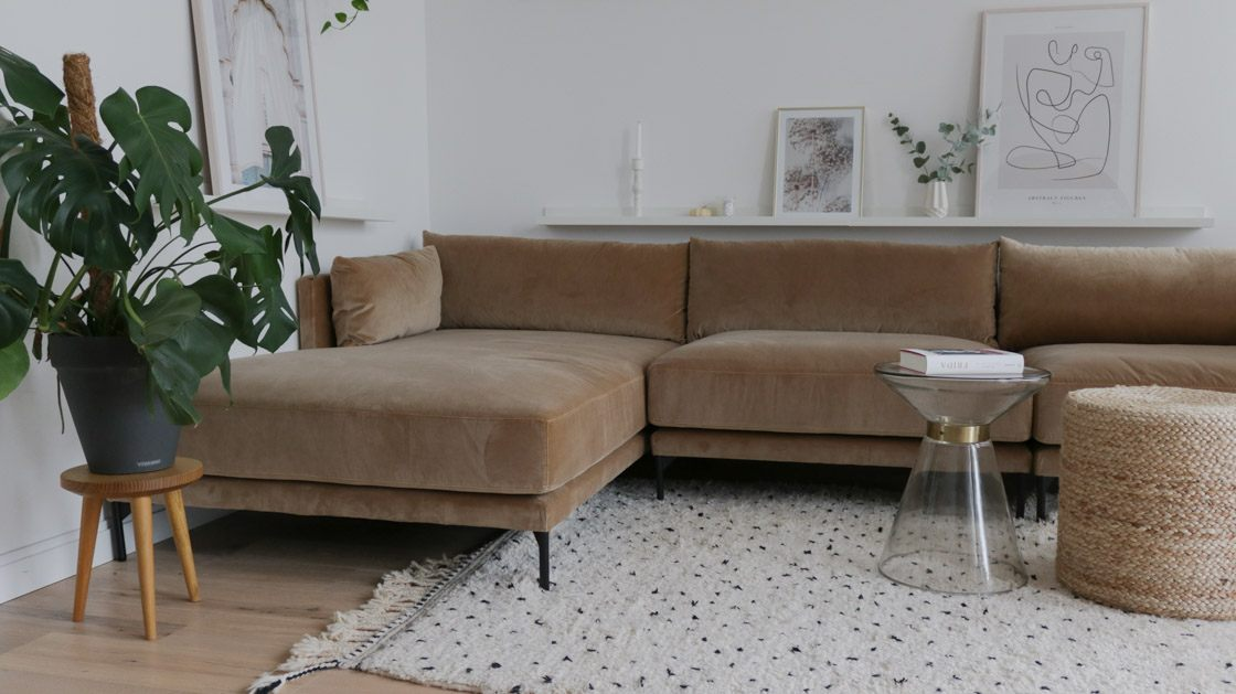 modulares Sofa Vincent im WK Apartment